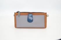 Portefeuille cuir / Compagnon modèle unique femme #3