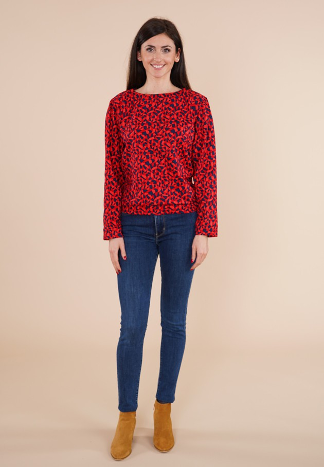 Pull rouge Princesse Nomade, Fred 4