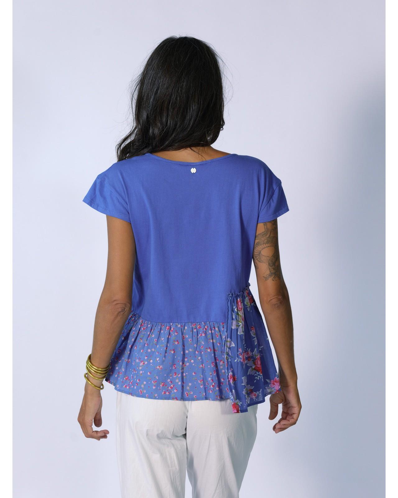 Rhum Raisin blue top, Lavandou 15