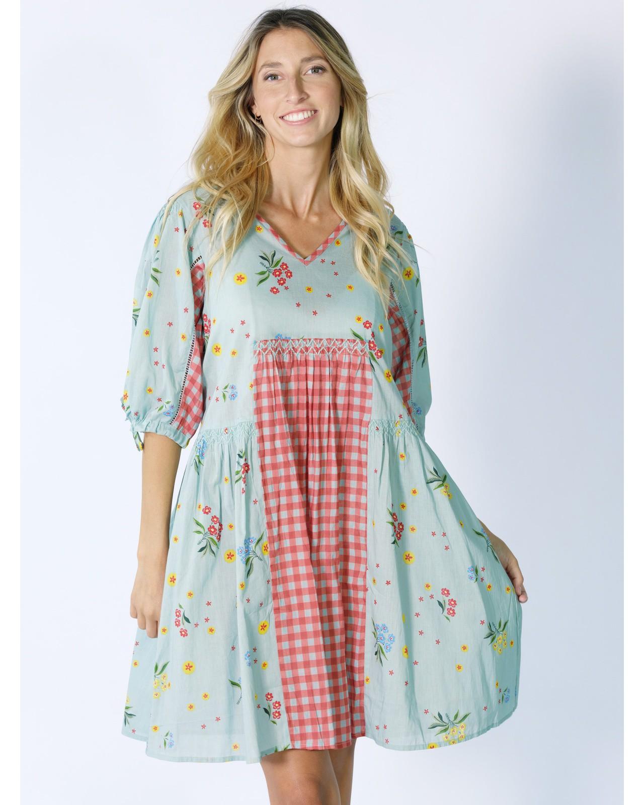 Rhum Raisin floral dress, Azur 69