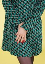 Robe ample imprimée Princesse Nomade, Fany 04