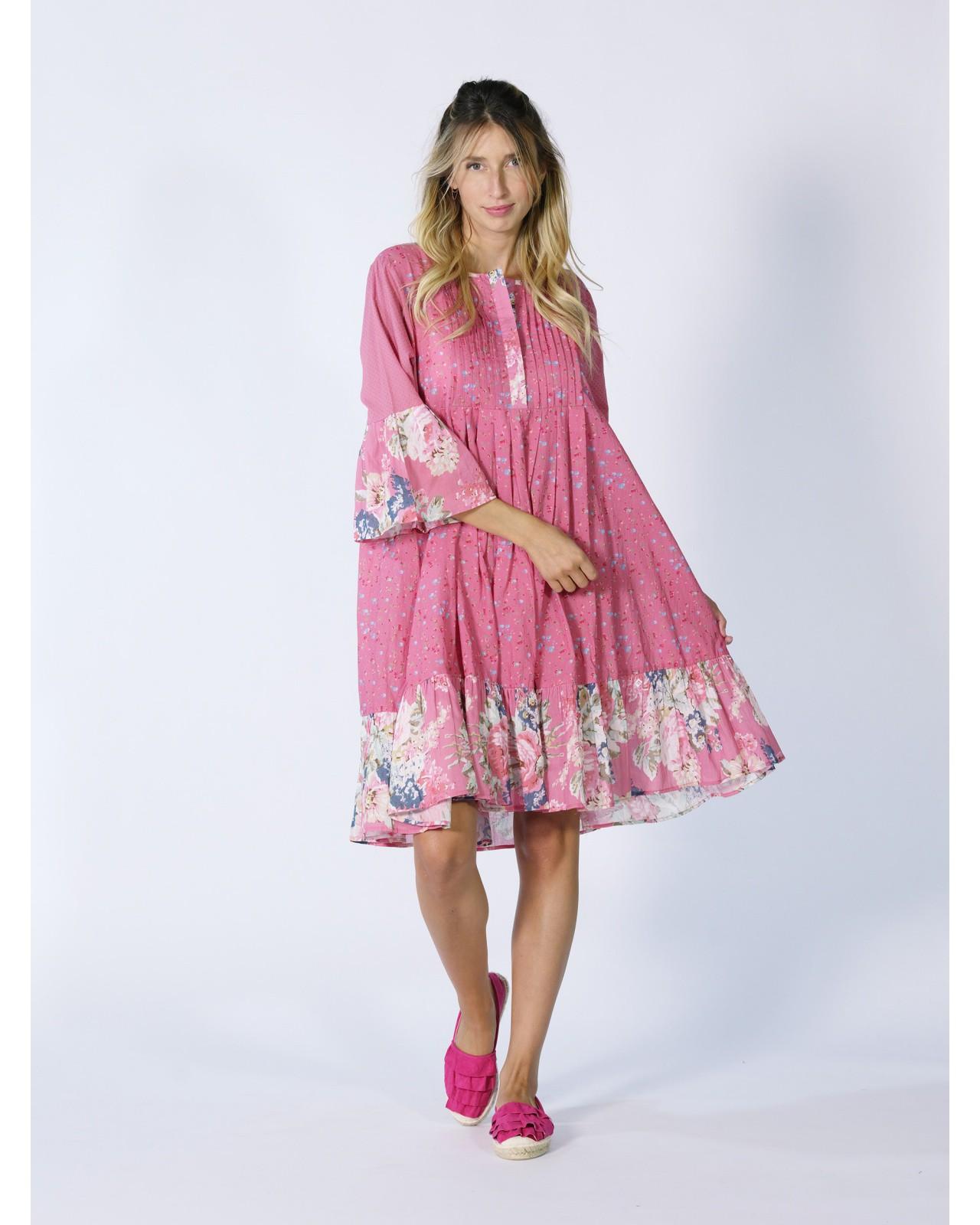 Robe ample Rhum Raisin, Valensole 65
