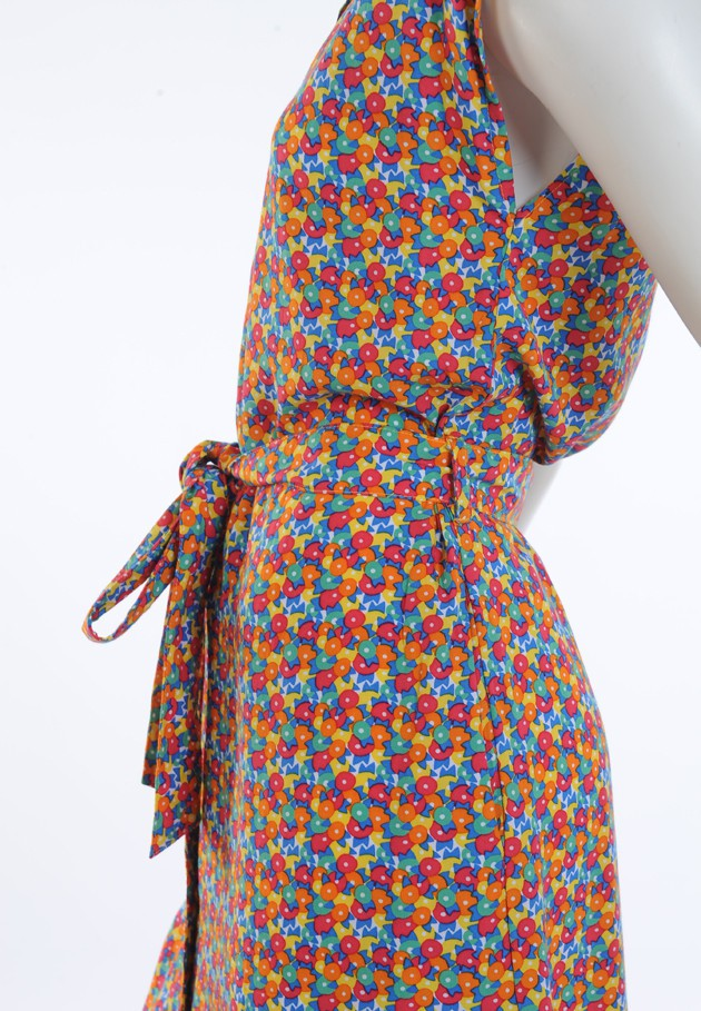 Robe avec un col chemise Princesse Nomade, Emily 6