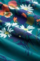 Robe cache coeur fleurie King Louie, Cross Pomona