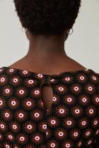 Robe courte imprimée Surkana