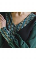 Robe courte verte Lingam