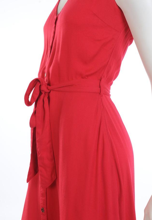 Robe dos nu rouge Princesse Nomade