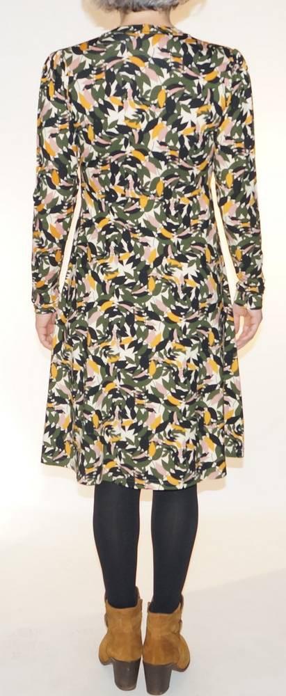 Robe élégante imprimée Princesse Nomade, Flavie 3