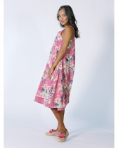 Robe été rose Rhum Raisin, Valensole 112