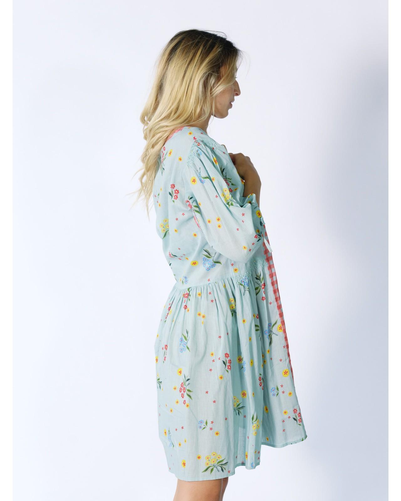 Robe fleurie Rhum Raisin, Azur 69