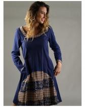 Robe hippie chic Lapis Lazuli 110 Rhum Raisin