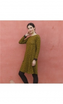 Robe hiver moutarde Lingam