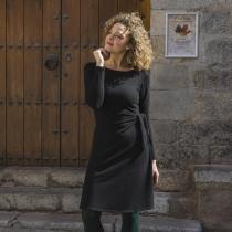 Robe hiver noire Lingam