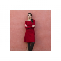Robe hiver rouge Lingam