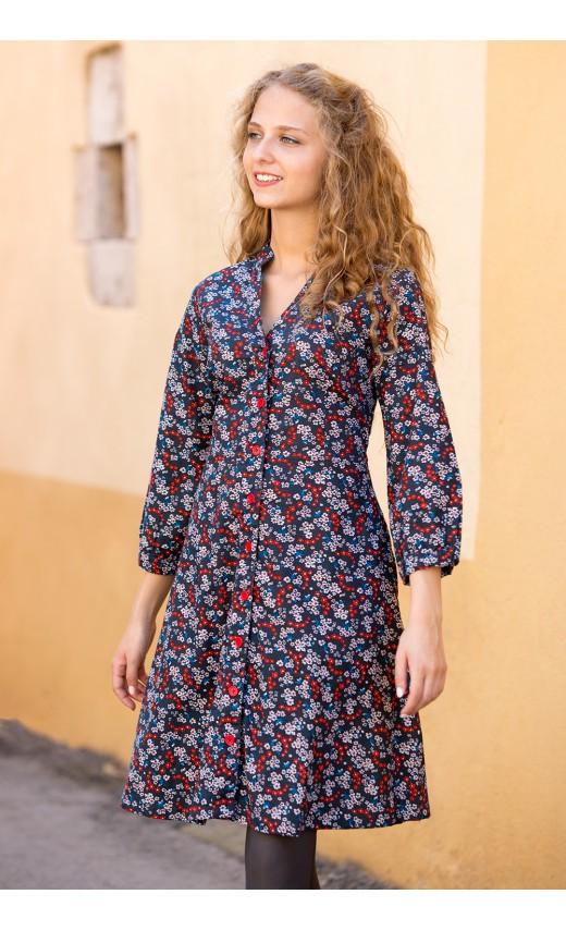 Robe Irina noire Lingam