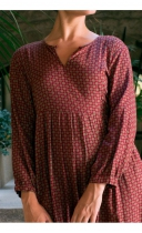Robe Lila Marga Lingam