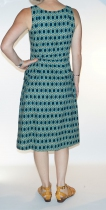 Robe longue bleue Lalita Ambi