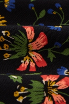 Robe mi-longue fleurie King Louie, Lynn Morena