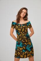 Robe motif Afrique Surkana