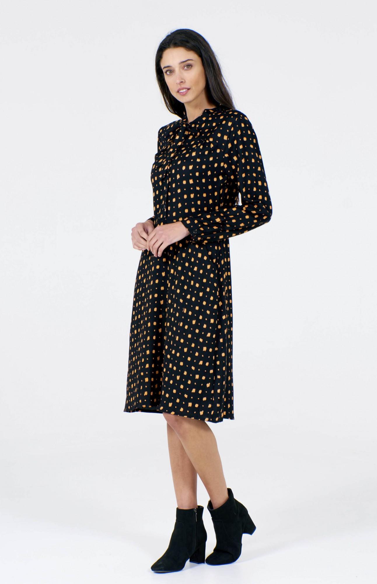 Robe noire manches longues Pretty Vacant Michelle