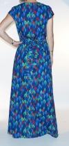 Robe originale bleue Lalita Uma 7