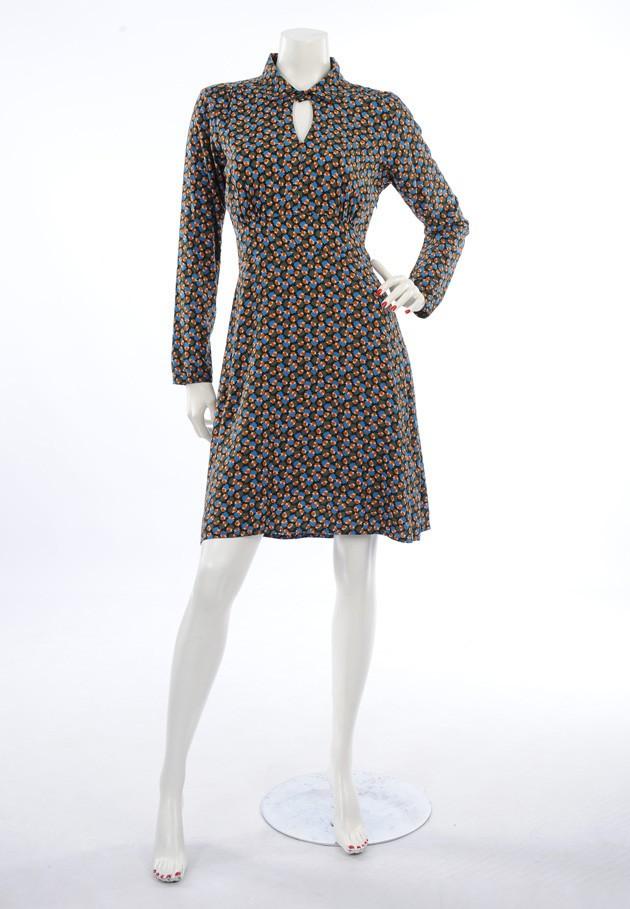 Robe originale Princesse Nmade, Djema 5 pétrole