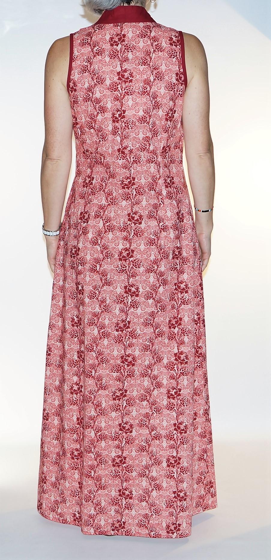 Robe originale Rouge Lalita Gomati 2