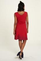 Robe rouge avec ceinture Tranquillo Sylvia