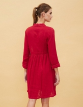 Robe rouge La Fiancée du Mékong, Garen