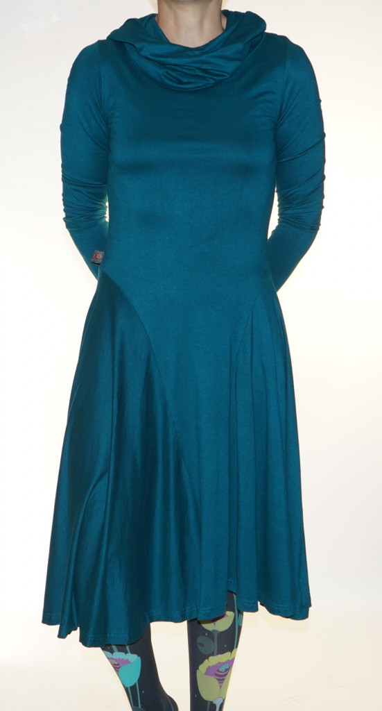 Robe unie bleu canard Sitara Kali Yog