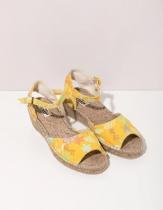 Sandale compensée originales Jakarta Soleil La Fiancée du Mékong