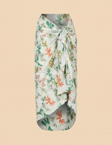 Sarong en coton La Fiancée du Mékong, garden gredge
