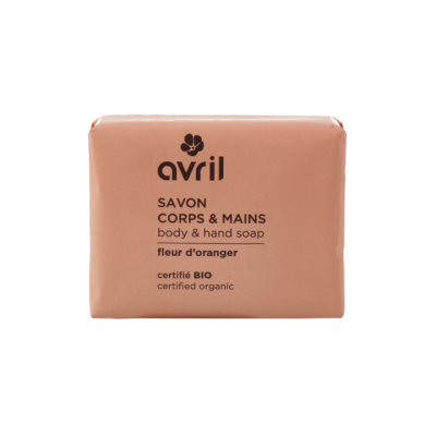 Soap Hand & Body Citrus 100g - Certified organic cosmetics in Avril