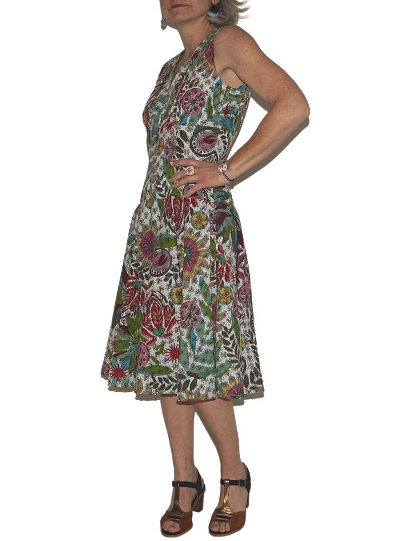Superbe robe fleurie Kali Yog, Spring