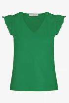 Tshirt vert Mademoiselle Yéyé A Little Fling coton bio