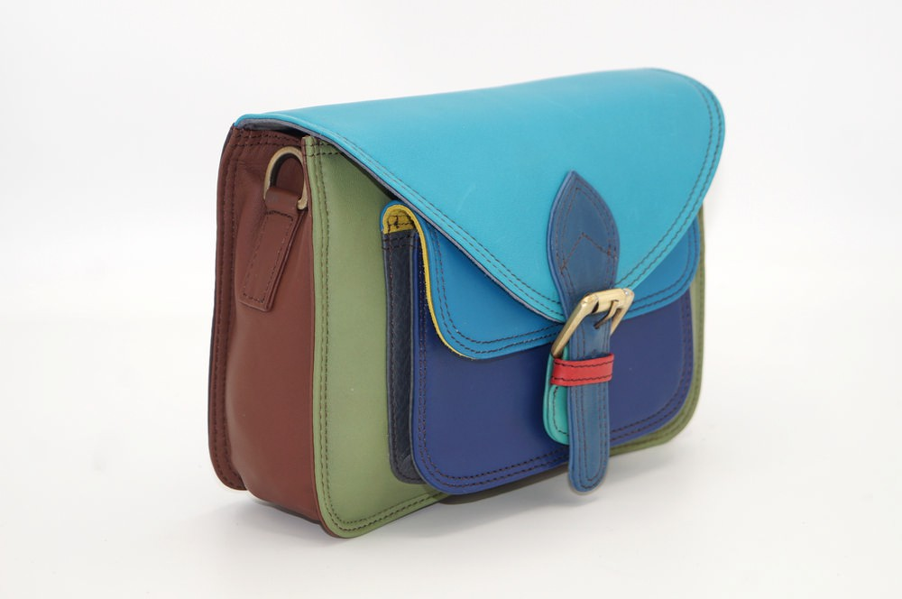 Women\'s colourful leather pouch #12