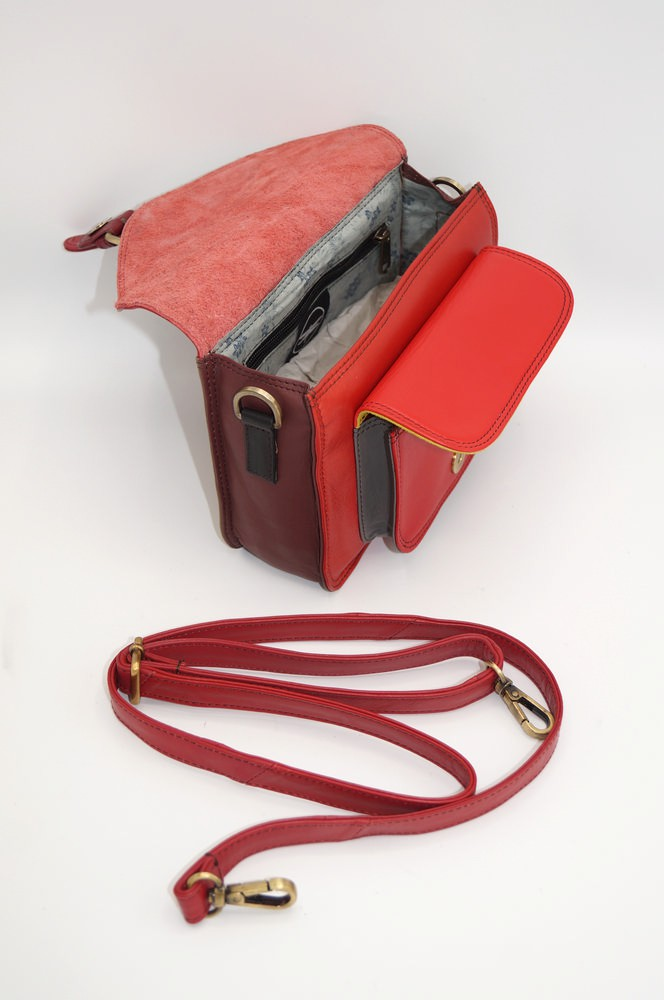 Women\'s colourful leather pouch #17